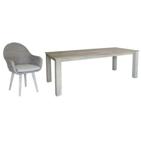 Old England Серый стол 2.2m...