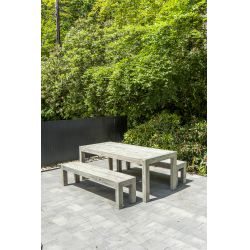 Old England серый стол 2.0m...