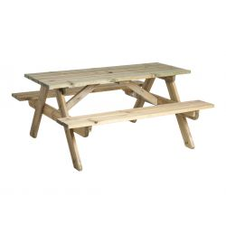 Pine Heavy Duty Picnic Table 6ft