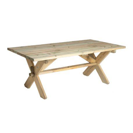 Сосновый стол фермера