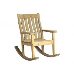 Сосновое кресло-качалка...
