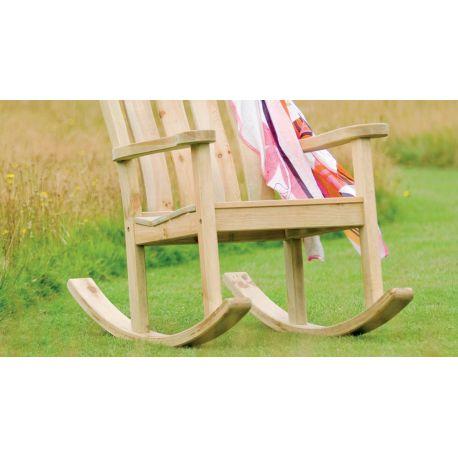 Pine Farmers Rocking Chair