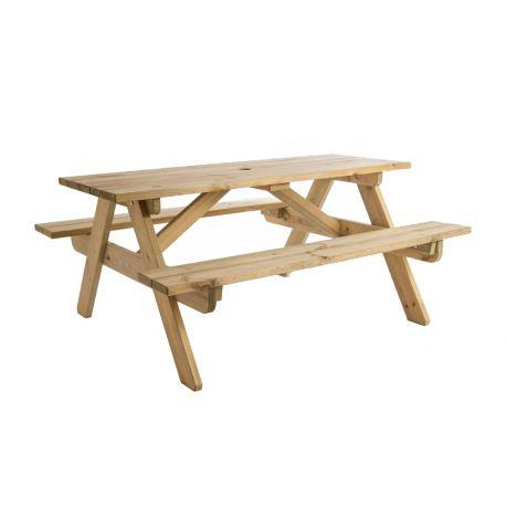 Сосновый детский стол для...