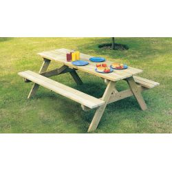 Pine Woburn Picnic Table 5ft