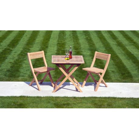 Roble Folding Set Tea For Two