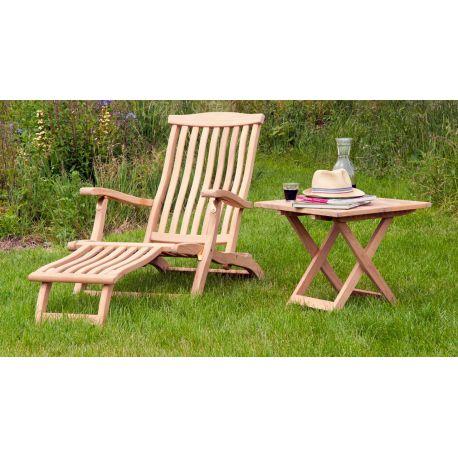 Roble Steamer Chair