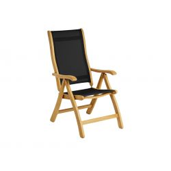 Roble Recliner Chair, Charcoal Sling