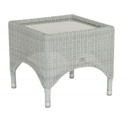 Classic Side Table w/ Glass