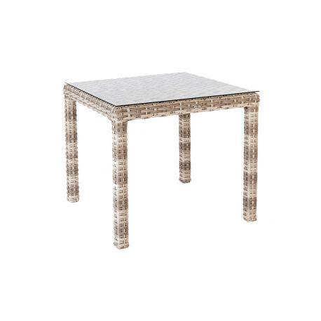 Kool Table 0.8 X 0.8m W. Glass
