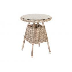 Kool Bistro Table 0.60m W. Glass