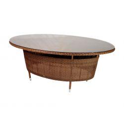 San Marino Oval Table. Glass