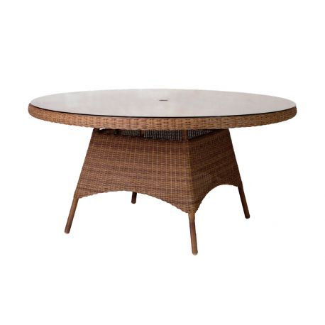 San Marino Table W.Glass 1.5m