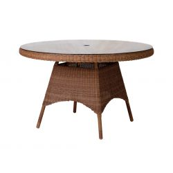 San Marino Table W.Glass 1.2m