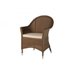 San Marino Curved Top Armchair