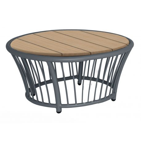 Cordial Side Table Grey w/...
