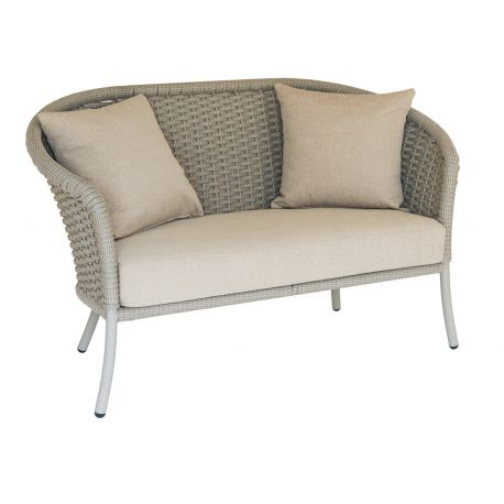 Cordial Sofa Curved Top w/ Beige Rope