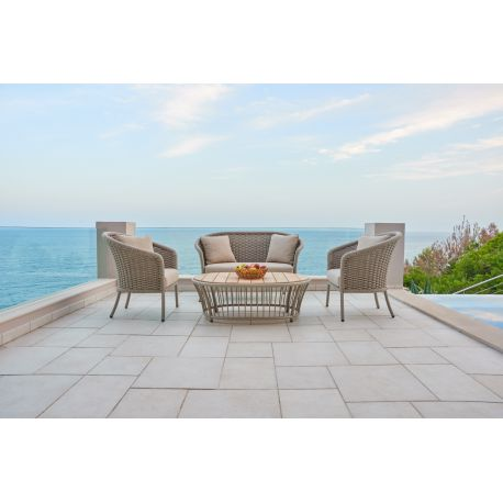 Cordial Sofa Curved Top w/...