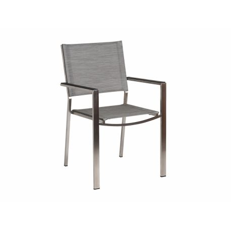 Col. Stacking Armchair Mist Sling