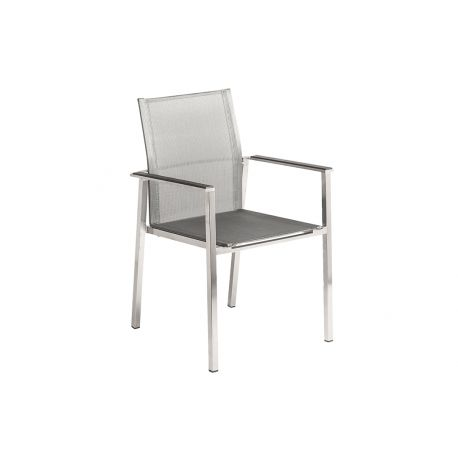 Col. Stacking Armchair Graphite Sling