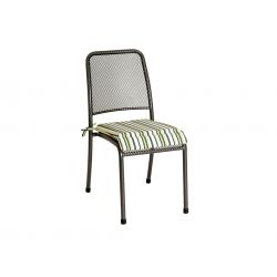 Portofino Chair Cushion Lime Stripe