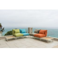 Beach Lounge Подушка серая