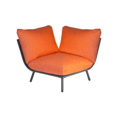 Beach Lounge Flint Corner Orange Cushion