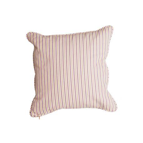 Polyester Scatter Cushion Lavender Stripe
