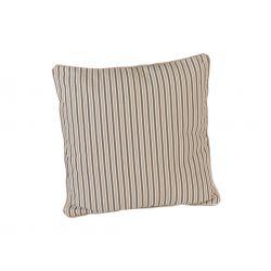 Polyester Scatter Cushion Mocha Stripe