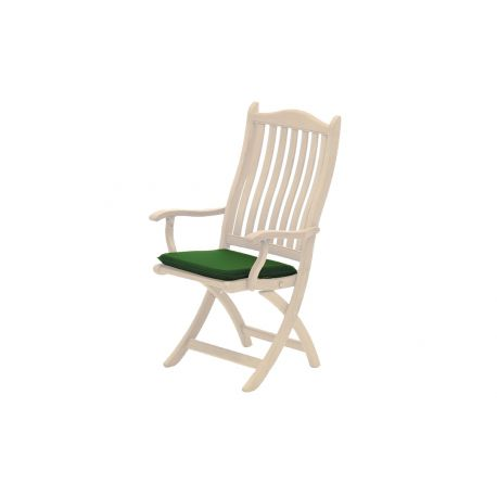 Polyester Seat Pad Green