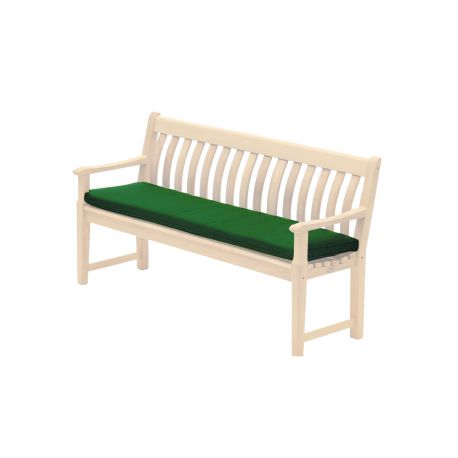 Polyester Bench Cushion Green 5ft