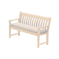 Polyester Bench Cushion Ecru 4ft