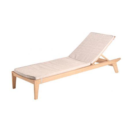 Sunbed Cushion Oatmeal 154