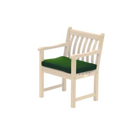 Olefin Armchair Cushion Green