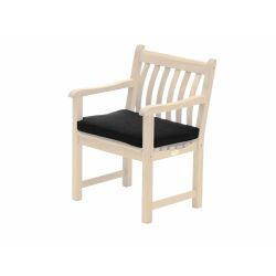 Olefin Armchair Cushion Charcoal