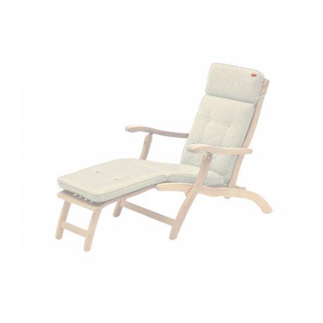Olefin Steamer Cushion Oatmeal