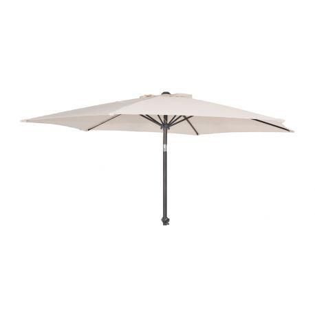 Okrągły parasol z aluminium