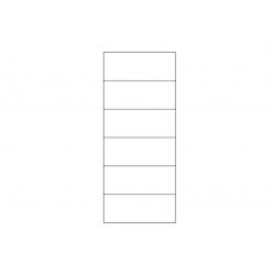 Kolekcja Harmony witryna 1-drzwiowa L (oświetlenie opcjonalne str. 74)
