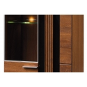 PORTI 10 left glass-fronted cabinet