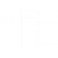 Kolekcja Velvet witryna 2-drzwiowa P (oświetlenie opcjonalne)