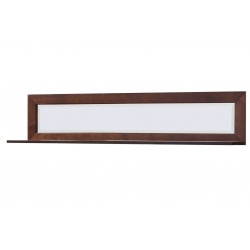 Grenada 35 wall-mounted shelf with a mirror