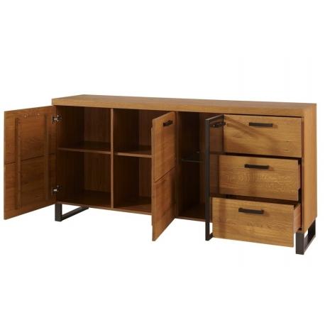 PRATTO 47 dresser 3 door 3 drawers