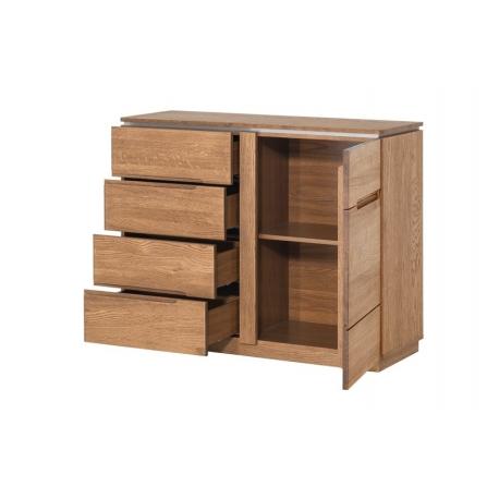Montenegro 44 1 door sideboard with 4 drawers