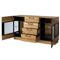 MOSAIC 47 komoda 2-drzwiowa z 4 szufladami