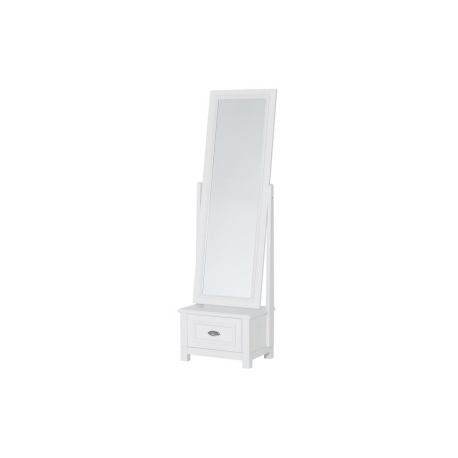Madison 70 floor mirror with 1 drawer