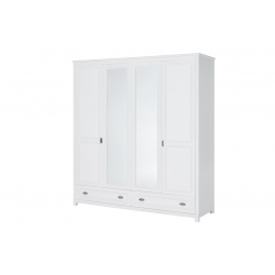 Madison 74 Szafa 4-drzwiowa z 2 szufladami (2-drzwi z lustrem)