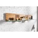 Velle 35 hanging wall shelf (lighting in standard)