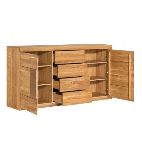 Velle 46 Kredens 2-drzwiowy z 4 szufladami