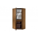 VELVET 16 2 door corner display unit