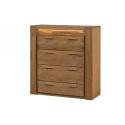 Velvet 75 Four drawer sideboard