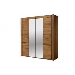 VELVET 77 Szafa 4- drzwiowa (2 drzwi z lustrem)